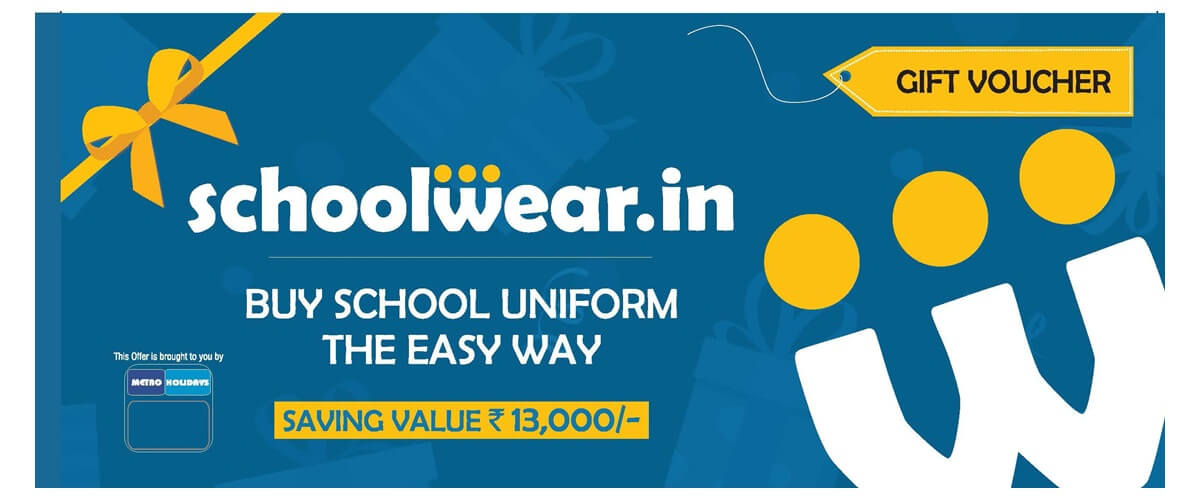 SCHOOL WEAR metrocouponzindia